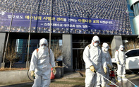 """Hàn Quốc: Số ca nhiễm virus corona tăng gấp đôi chỉ sau 1 ngày, nghi ngờ trường hợp """"siêu lây nhiễm"""" ở nhà thờ"""