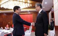 Phó Thủ tướng gặp song phương Bộ trưởng Trung Quốc và Bộ trưởng Lào