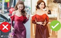 """Nhìn sự cách biệt """"váy hiệu – váy chợ"""" của Ngọc Trinh mới thấy photoshop có tác dụng thần kỳ thế nào"""