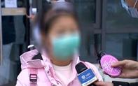 Được xuất viện sau khi điều trị thành công Covid-19, bé gái 9 tuổi nói một câu khiến tất cả phóng viên ngỡ ngàng