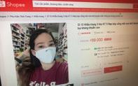 3.000 gian hàng trên Shopee vi phạm bán khẩu trang