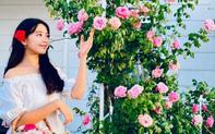 Đỉnh cao nhan sắc của con gái lớn nhà MC Quyền Linh: Chỉ đứng trong vườn chụp ảnh mà đẹp hơn cả người mẫu chuyên nghiệp