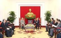 Thường trực Ban Bí thư tiếp Cố vấn đặc biệt Liên minh Nghị sĩ hữu nghị Nhật-Việt
