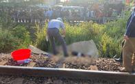 Nằm trên đường ray, người đàn ông bị tàu hỏa tông chết thảm