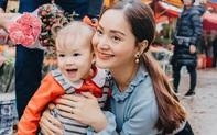 """Mẹ con Lan Phương """"nắm tay đi khắp thế gian"""", đáng yêu hơn cả là cô con gái nhỏ ngày càng dạn dĩ, tự lập trong sinh hoạt"""