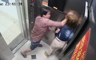 Công an làm việc với người đàn ông đánh cô gái trong thang máy chung cư Trung Đông Plaza ở Sài Gòn