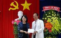 Phó Chủ tịch nước thăm, làm việc tại tỉnh Cà Mau
