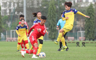 HLV Mai Đức Chung muốn sử dụng tấn công hai biên để tìm cơ hội đánh bại Đội tuyển nữ Australia