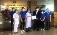Trung tâm Huấn luyện thể thao Quốc gia Hà Nội chung tay ủng hộ Bệnh viện bệnh Nhiệt đới Trung ương đẩy lùi Coivd-19
