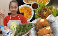 Bé gái lớp 5 học trên mạng làm hàng chục món ăn ngon nhưng lịch học ở nhà vẫn rất chỉn chu: Tất cả nhờ cách dạy khéo của mẹ