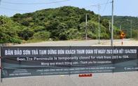 Đà Nẵng lập chốt chặn không cho người dân và du khách lên bán đảo Sơn Trà để phòng chống dịch Covid-19