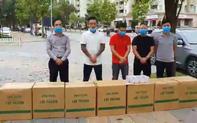 Tuấn Hưng và Thái Thuỳ Linh ủng hộ  gần 100 triệu đồng cùng hơn 10.000 chiếc khẩu trang ủng hộ bác sĩ BV Bạch Mai chống dịch Covid-19