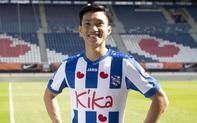 Chăm chỉ tập luyện trong mùa dịch Covid-19, Văn Hậu nhận lời ngợi khen từ SC Heerenveen