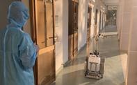 TP.HCM: Bệnh viện điều trị Covid-19 đưa robot khử khuẩn phòng cách ly vào hoạt động thay nhân viên y tế
