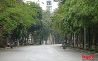 Hà Nội vắng lặng sau quyết định xử phạt người ra đường không vì mục đích thiết yếu