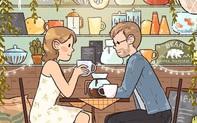 Bộ tranh cực dễ thương về tình yêu: Cuộc đời dài là thế, cớ sao cứ chịu cảnh một mình?