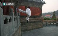 """Đạo sĩ Võ Đang bị tố """"bịp bợm"""" sau màn khinh công nhảy lên bức tường cao 4 mét"""