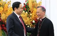 Chủ tịch Mặt trận Tổ quốc mong giáo dân thực hiện nghiêm Chỉ thị của Thủ tướng, giãn cách xã hội để chống dịch