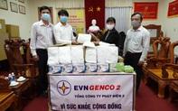 Tổng công ty Phát điện 2 trao tặng 400 bộ trang phục phòng hộ chống dịch Covid-19
