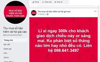 Cảnh báo tình trạng mạo danh tài khoản Facebook thu gom sổ BHXH