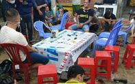 Công an nổ súng triệt phá, bắt giữ gần 40 người say sưa đánh bạc trong khu vườn ở Long An