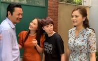 """""""Những ngày không quên"""" tung hậu trường Khoa - Uyên mời đám cưới nhưng ai cũng chỉ chú ý đến... chân của Thu Quỳnh, Bảo Thanh"""