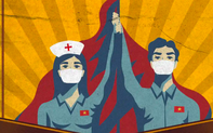 """Báo quốc tế """"thán phục"""" sức mạnh của tranh cổ động trong cuộc chiến chống COVID-19 tại Việt Nam"""