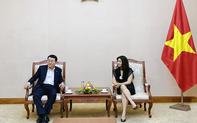 Cục trưởng Cục Hợp tác quốc tế Nguyễn Phương Hòa tiếp ông Chang Bok Sang, Chủ tịch Tập đoàn CJ Việt Nam