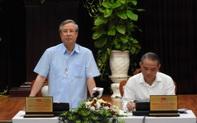 Thường trực Ban Bí thư Trần Quốc Vượng làm việc tại Đà Nẵng