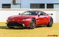 Chiêm ngưỡng Aston Martin V8 Vantage chính hãng với bộ bodykit tương tự xe đại gia Hoàng Kim Khánh