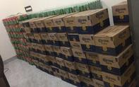 Quảng Bình: Phát hiện, tạm giữ gần 200 thùng bia không có nhãn mác
