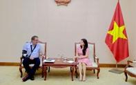 Cục trưởng Cục Hợp tác quốc tế gặp và trao đổi với Tham tán Văn hóa Đại sứ quán CHLB Đức tại Việt Nam