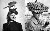 """Những bức ảnh đen trắng kỳ lạ cho thấy phụ nữ thời xưa có thể đội bất cứ thứ gì lên đầu để làm đẹp, tổ chim cũng thành """"cực phẩm"""""""