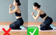 Bài tập đơn giản giúp săn chắc và nâng cao mông, nhưng nếu không tập đúng thì đùi to như cột đình