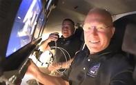 Cận cảnh gương mặt hai phi hành gia người Mỹ trên trạm không gian quốc tế