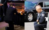 Thị trưởng Minneapolis quỳ khóc trước quan tài George Floyd trong lễ tưởng niệm '8 phút 46 giây' đặc biệt