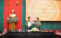 Thăng quân hàm Thượng tá lên Đại tá cho Giám đốc Công an tỉnh Thái Bình