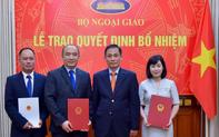 Nhân sự mới Bộ Ngoại giao, Bộ Quốc phòng, TPHCM