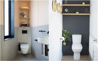 Các ý tưởng tuyệt vời dành cho bạn để truyền nguồn cảm hứng thiết kế cho một không gian nhà vệ sinh chỉ 3m²