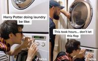 TikToker tạo ra bản nhạc kinh điển trong Harry Potter chỉ với 1 chiếc máy giặt, được nhà văn J. K Rowling đích thân khen ngợi