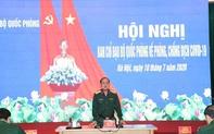 Phòng chống dịch là nhiệm vụ chính trị trọng tâm, tiến hành song song với công tác quân sự, quốc phòng