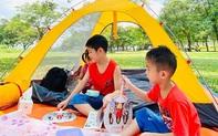 Ngay ở Hà Nội có 1 công viên rộng mênh mông, đầy cây xanh - điểm dã ngoại tuyệt vời cho trẻ nhỏ vào cuối tuần
