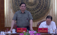 Ông Phạm Minh Chính: Đảng bộ tỉnh Thanh Hóa cần tiếp tục duy trì sự đoàn kết, thống nhất