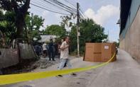 Sửa điện phía trên, nam công nhân trượt chân rơi xuống đường tử vong