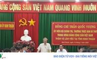 Thường trực Ban Bí thư Trần Quốc Vượng làm việc tại Ninh Thuận