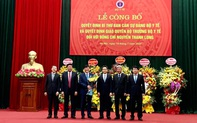 Công bố quyết định Bí thư Ban cán sự đảng, quyền Bộ trưởng Bộ Y tế
