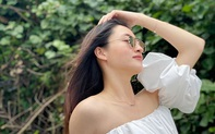 Hoa Hậu Lương Thùy Linh khoe vẻ quyến rũ trước thiên nhiên