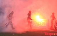 Trận đấu Hà Nội FC - CLB Hải Phòng: Tăng cường an ninh để xử lý pháo sáng?