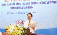 """Ông Võ Văn Thưởng: Củng cố đội ngũ cán bộ làm công tác tuyên giáo vừa """"hồng"""" vừa """"chuyên"""" trong tình hình mới"""