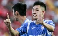 Tuyển thủ U22 Việt Nam sút xa ghi bàn đẳng cấp thế giới tại V.League khiến đàn anh phải bật dậy vỗ tay